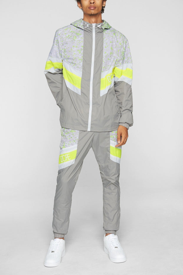 DOPE relay windbreaker grey safety jackets and outerwear grey TheDrop