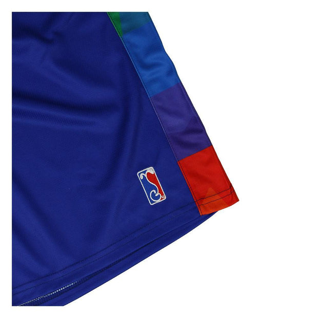 Grassroots California danker nuggets blue mesh shorts shorts blue TheDrop