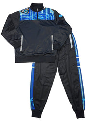 Grindstone Universal blue infinity sweatsuit jackets and outerwear navy TheDrop