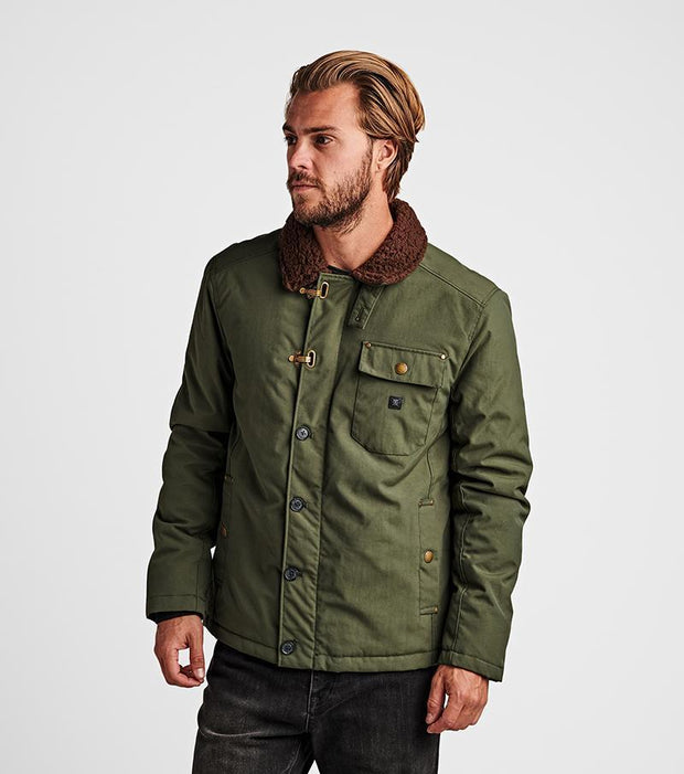 ROARK mens axeman jacket dark army belmont army green TheDrop
