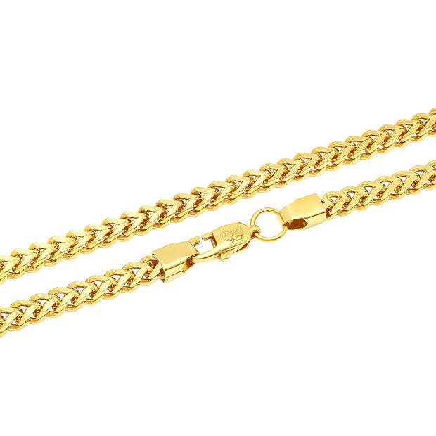 VESSO franco box chain jewelry gold TheDrop