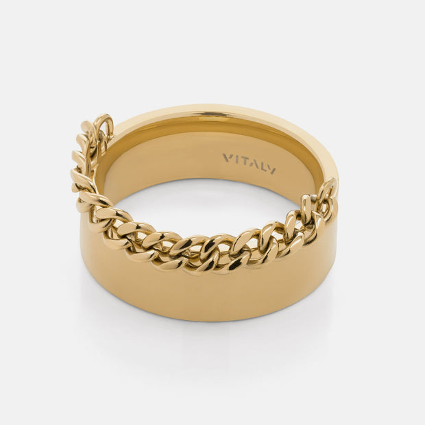 Vitaly resist rings gold TheDrop