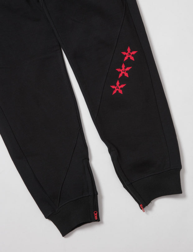 Born Fly leather face joggers 1909b3371 blk pants and joggers black TheDrop