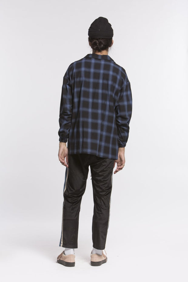 CANDOR Official plaid zip pullover shirt jackets and outerwear TheDrop