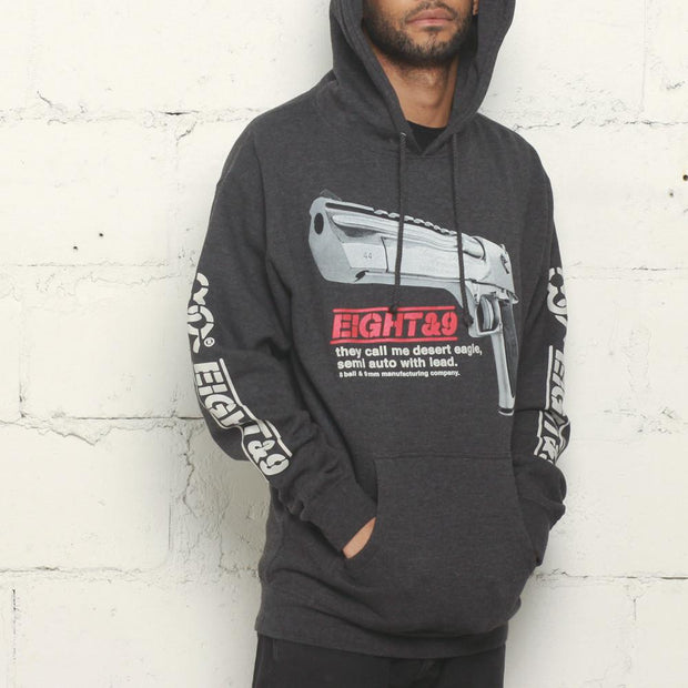 8 9 MFG Co. desert eagle hoodie charcoal jackets and outerwear grey TheDrop