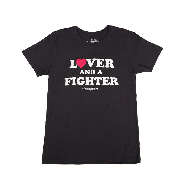 Contenders Clothing womens lover fighter too contenders TheDrop