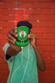 Stay Charged Up lucky hat boston celtics external batteries chargers TheDrop