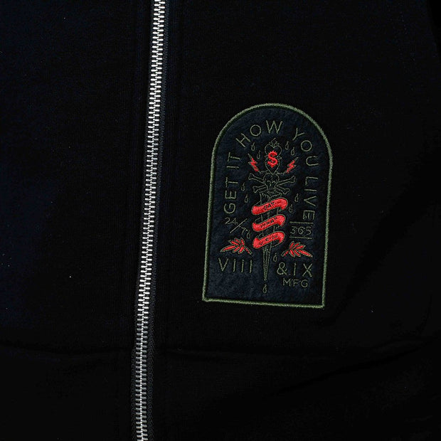8 9 MFG Co. nature zip up hooded sweatshirt 1 jackets and outerwear TheDrop