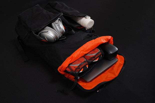 Atomic Mission Gear parmia black backpacks bags luggage TheDrop