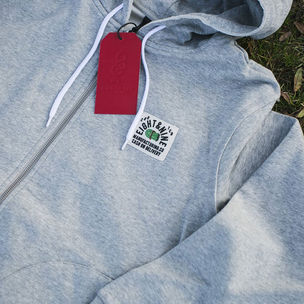 8 9 MFG Co. rocky flight zip up hoodie jackets and outerwear TheDrop