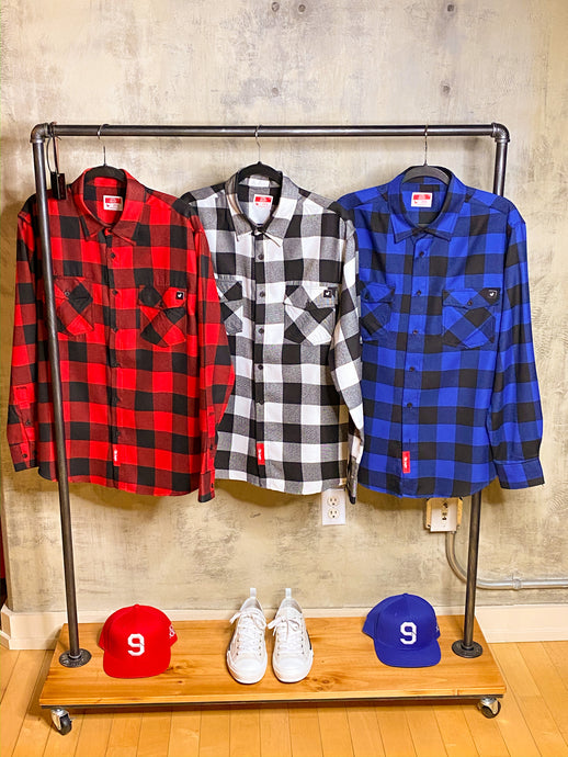 SJC Long Sleeve Flannel