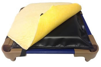 Orthopedic Dog Bed Insert for Raised Dog Beds