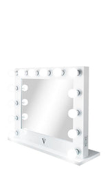 Wide Lighted Hollywood Mirror with Dimmer :: IMPACT Series