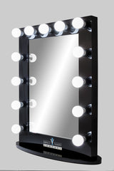 Upright Lighted Hollywood Mirror :: IMPACT Series