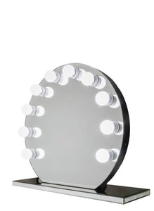 Round Hollywood Frameless Mirror :: IMAGE Series