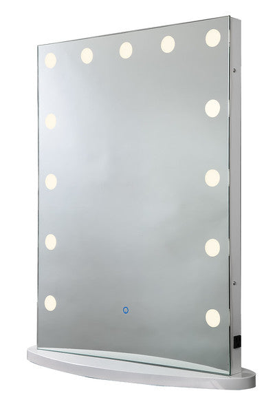 Upright LED Lighted Mirror :: IMPULSE Series