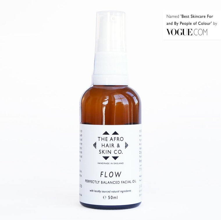 Afro Hair & Skin Co. FLOW - Perfectly Balanced Facial Oil 50ml