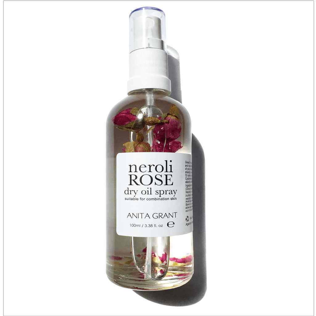 Anita Grant Neroli Rose Dry Oil Spray