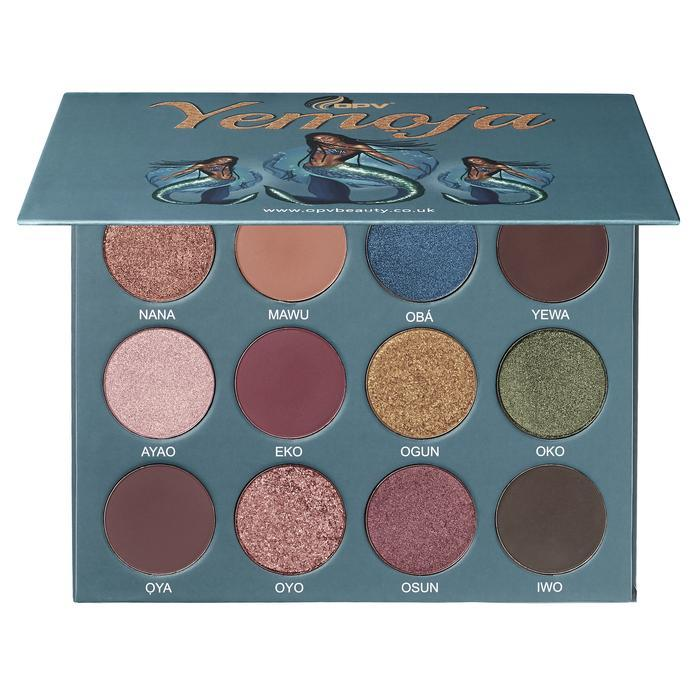 OPV Beauty Yemoja Eyeshadow Palette