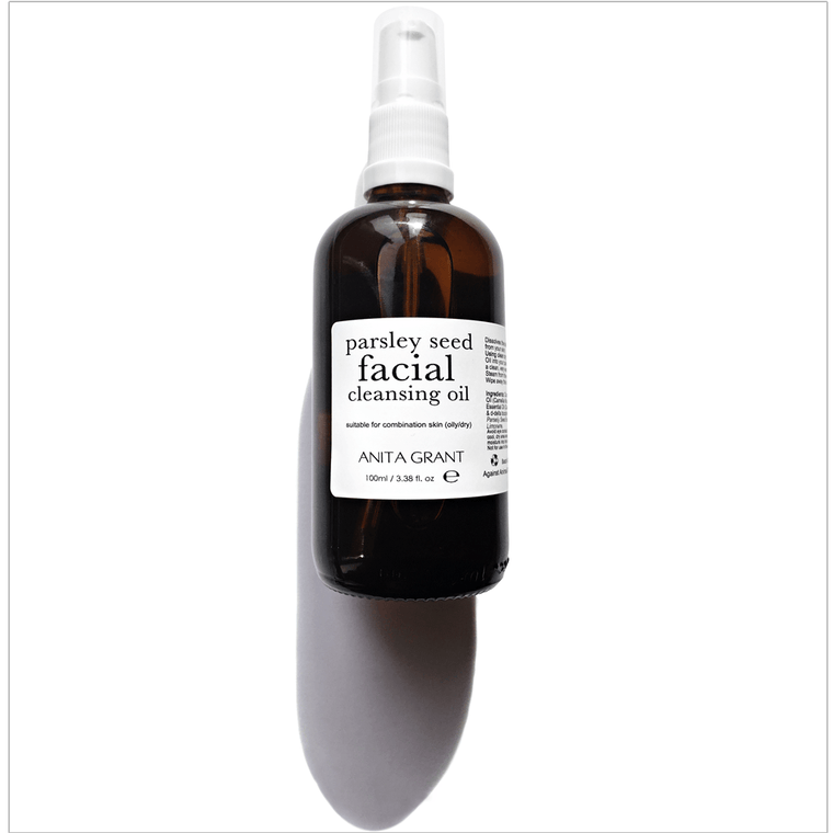 Anita Grant Parsley Seed Facial Cleansing Oil