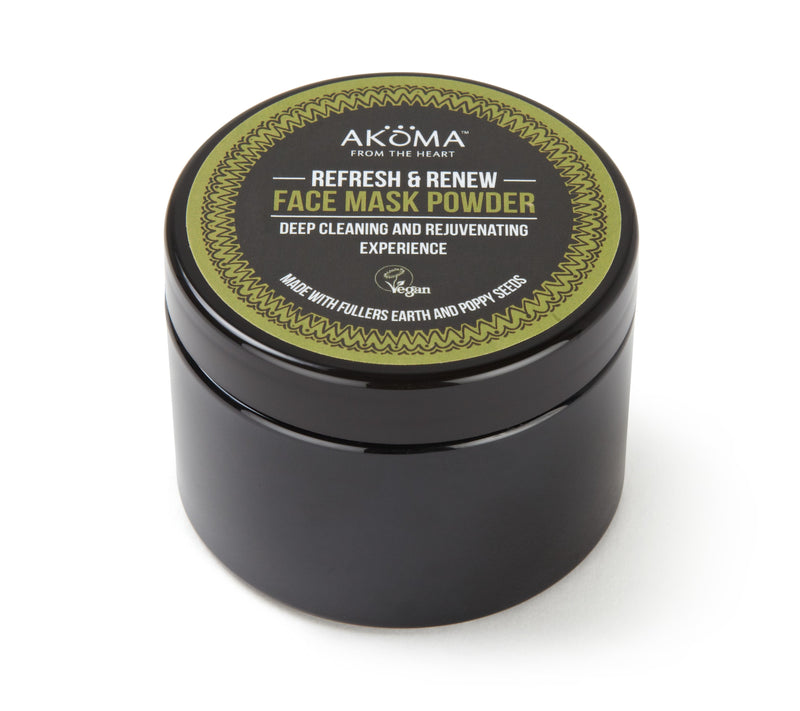 Akoma Refresh & Renew Face Mask Powder