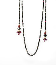 XOD Jewellery Spinel, Ruby and Almondine Garnet Necklace