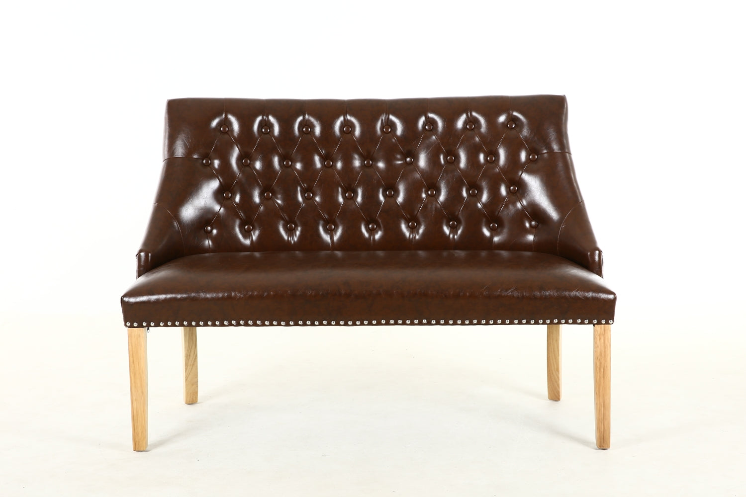 Royal Bench Sapphire Yellow Brown Leather