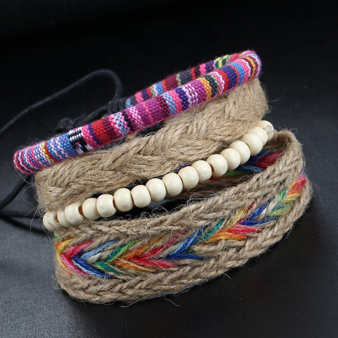 Bohemian Multi-Layer Bangle Bracelet - Belleza Obsession