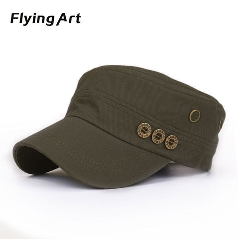 Flat Army Style Cap, Variety - Belleza Obsession