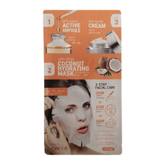 3-Step Anti-Aging Night Time Korean Face Mask (Pack of 8)