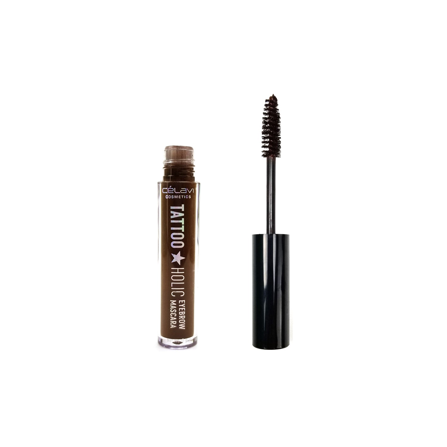 Celavi Tattoo Holic Volumizing & Shaping Eyebrow Mascara 3 Pc Set (In Brown, Coffee&Chocolate)