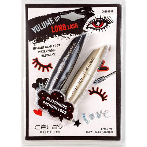 Celavi's Best Seller Waterproof Precision Liquid Felt Tip Eyeliner Pen, Black or Brown, .08 oz