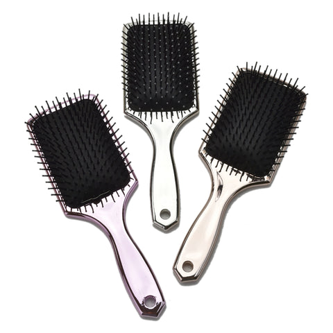 Diamond Cushion Handle Professional Salon Hair Brush Bristles