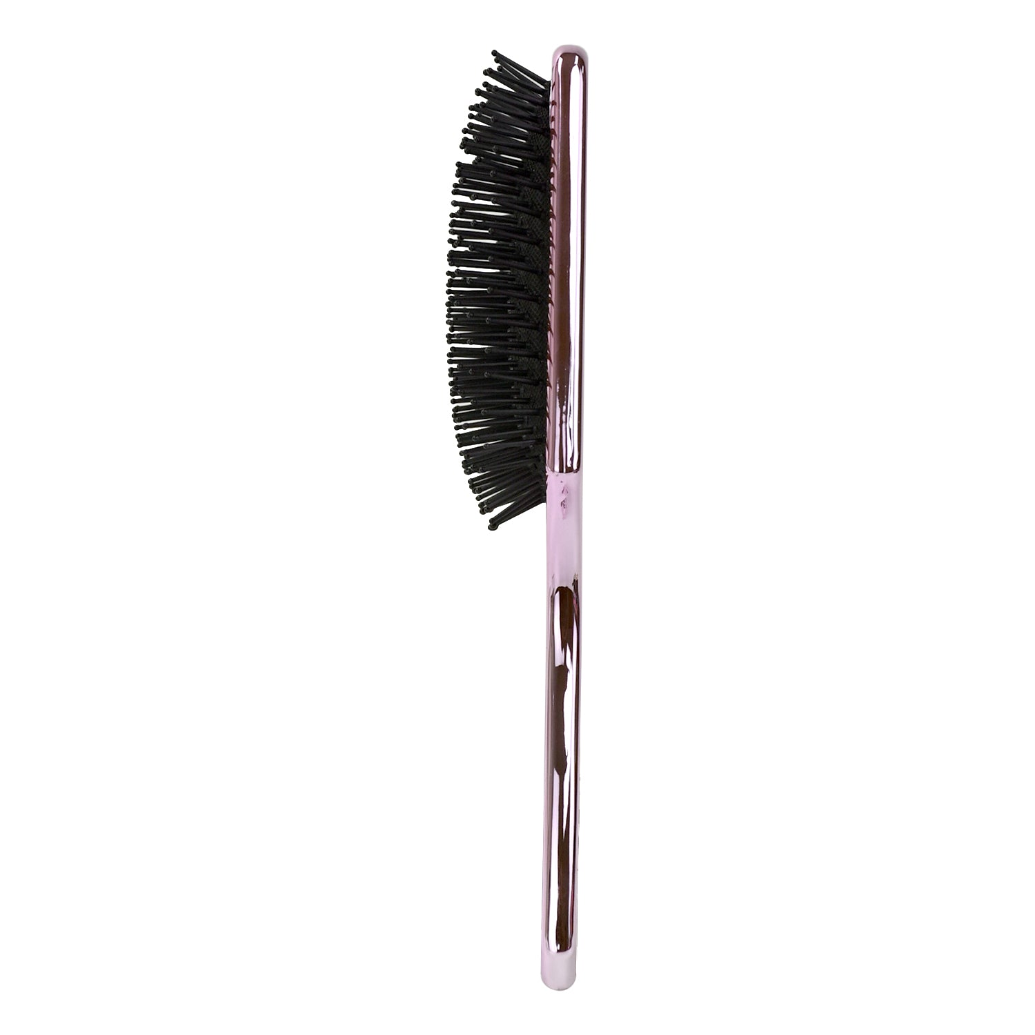 Celavi Professional Metallic Chrome Rectangular Paddle Brush (Available in Bronze, Silver and Lilac)