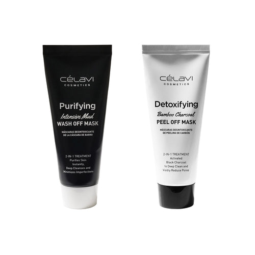 Face Mask Duo - Wash Off / Peel Off 2-in-1 Treatment- Korean Skin Care