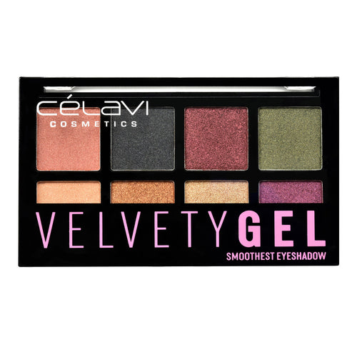 Celavi Velvety Gel Smooth Eye-shadow 8 Color Palette