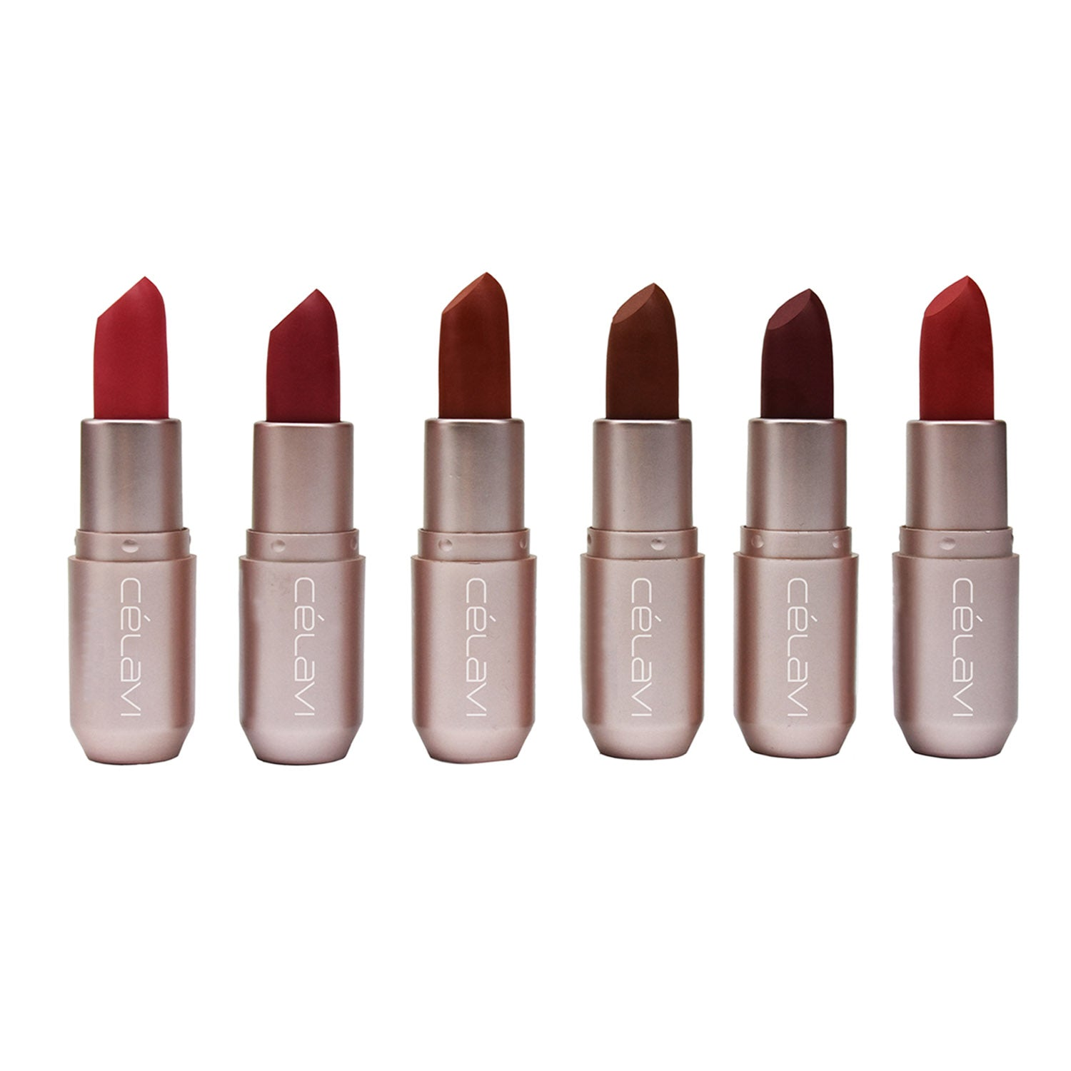 Velvet Shine Free Flat Finish Matte Lipstick 6 Colors