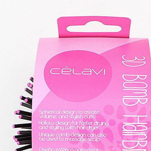 Celavi 3D Bomb Blow Dry Brush Professional Salon Hair Brush-Beauty-Celavi Cosmetics-Celavi Cosmetics