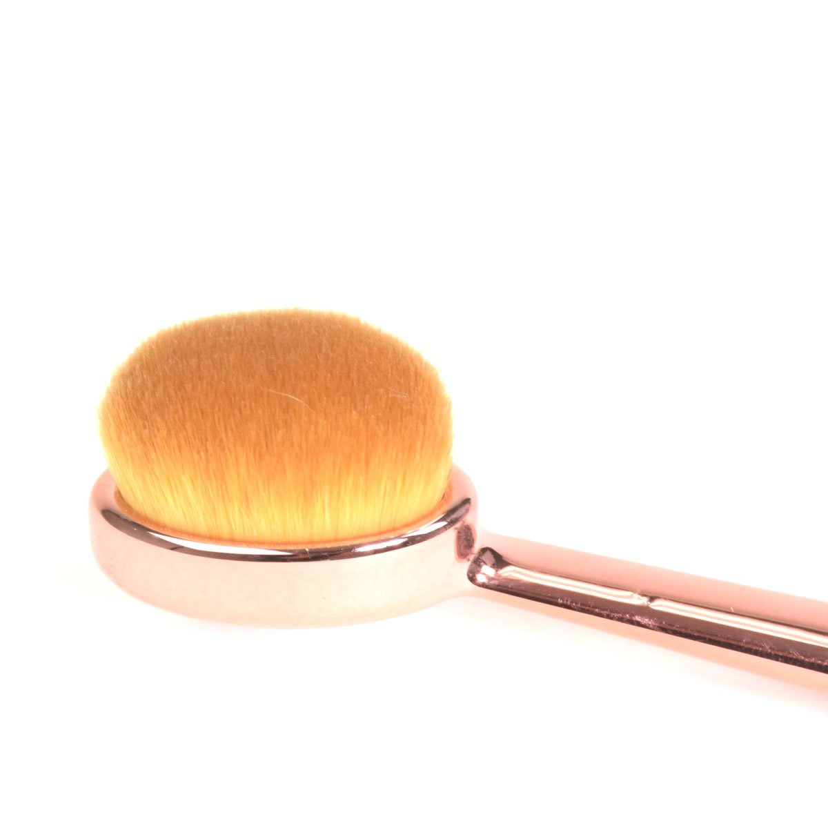 Celavi Oval Makeup Brush Professional Cosmetic Tools for Face, Foundation, Creams, Liquids, Moisturizer, Powder, Blush, Concealer, Contour-Beauty-Celavi Cosmetics-Celavi Cosmetics