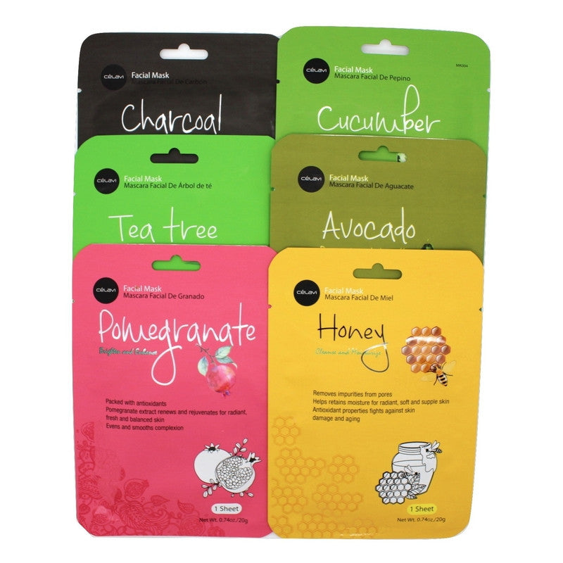Essence Facial Mask Paper Sheet Moisturizing Skin Care-Beauty-Celavi Cosmetics-Mix (2 of Each)-1-Celavi Cosmetics
