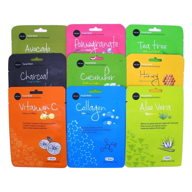 Essence Facial Mask Paper Sheet Moisturizing Skin Care-Beauty-Celavi Cosmetics-Mix of 9-9-Celavi Cosmetics