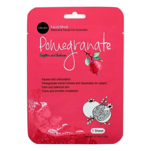 Essence Facial Mask Paper Sheet Moisturizing Skin Care-Beauty-Celavi Cosmetics-Pomegranate-12-Celavi Cosmetics