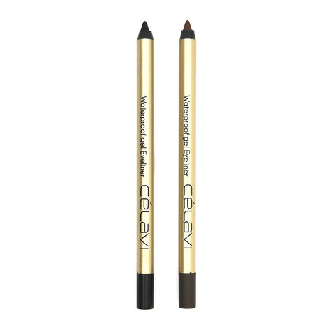 Celavi Glamorous Waterproof Volume Up & Long Lash Mascara Set (2 PCS)