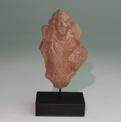 SUPERB ROMAN TERRACOTTA STATUE - 2nd/3rd Century AD