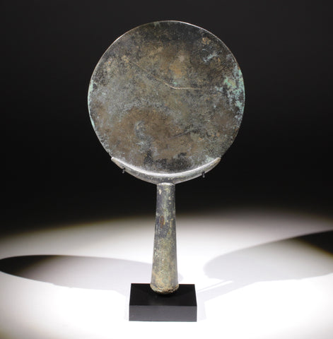 FABULOUS ANCIENT ROMAN BRONZE MIRROR - CIRCA 1st/2nd Century AD