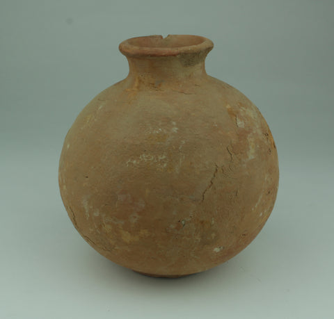 LARGER ROMAN RED WARE POT - 2nd/3rd Century AD (209)