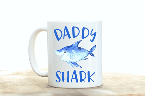Daddy Shark Coffee Mug