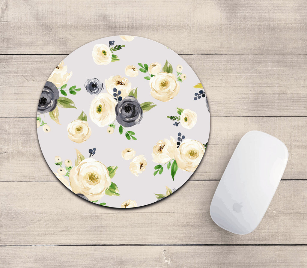 Cute floral mousepad