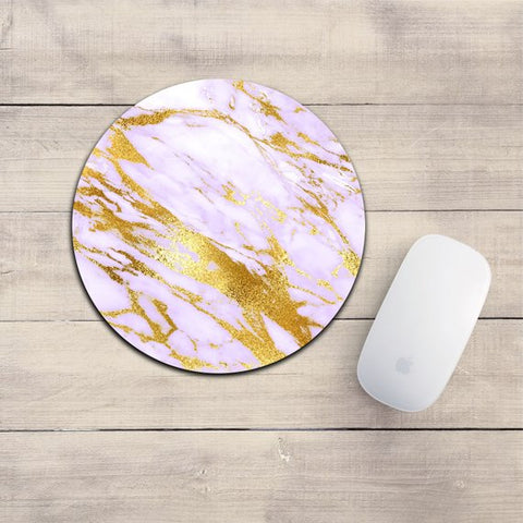 Purple Marble Mousepad