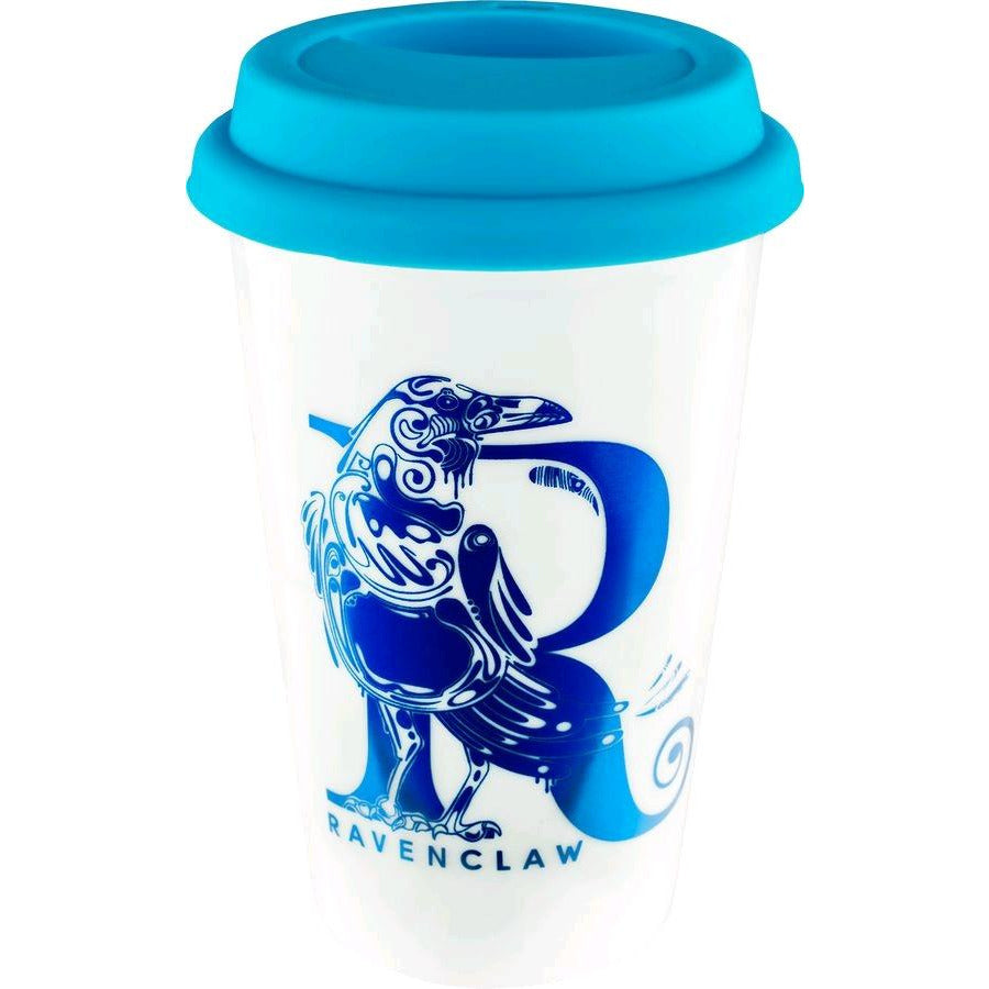 Harry Potter - Ravenclaw Foil Logo Travel Mug